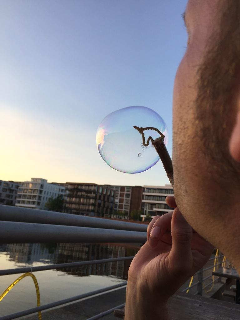 Seifenblase Einhornpipi