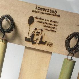 Pandabären lieben frischen Bambus. Unser Immerstab Thekendisplay